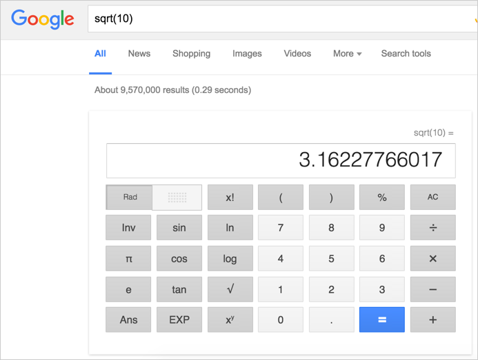 Using Mathematical Expressions in Google Search