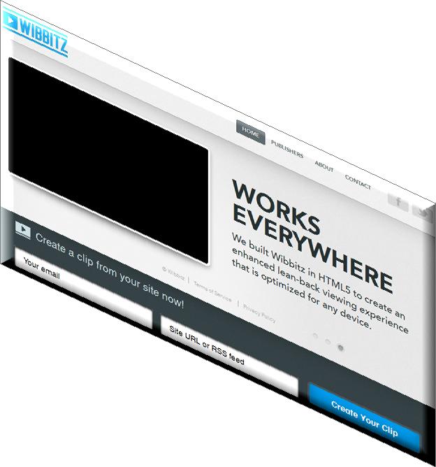 Wibbitz - конвертировать блог в видео