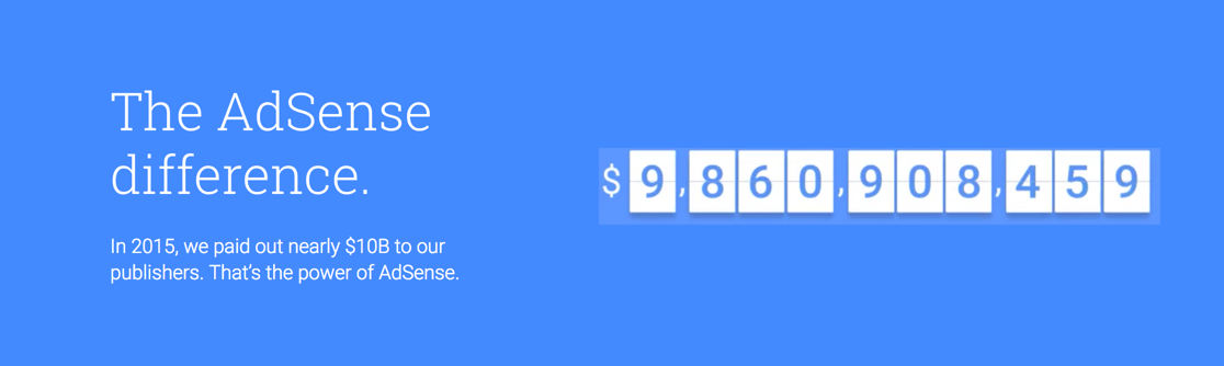 Google Paid $10 Billion for AdSense Publishers