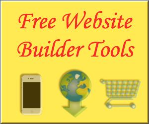 Free Website Builder Tools