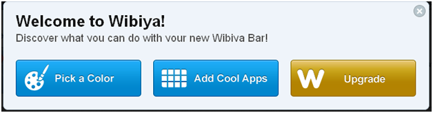 Wibiya Toolbar Customizing Options