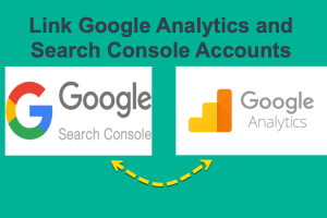 Link Analytics and Search Console Accounts