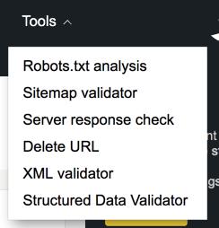 yandex webmaster tools webnots