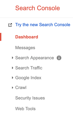Google Search Console Features