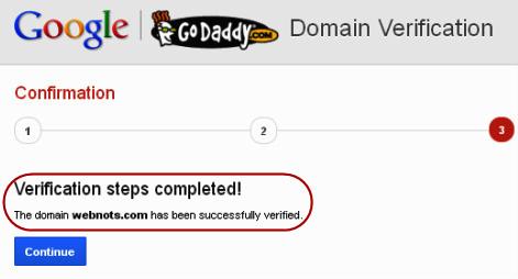 Verification Successful - Step 6