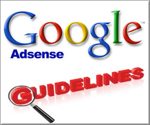 AdSense Publisher Guidelines