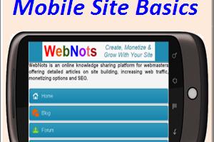 Mobile Site Basics