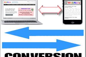 Mobile Site Conversion