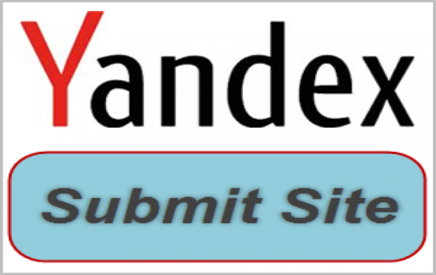 Submit Site to Yandex