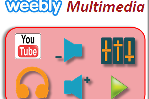Weebly Multimedia Elements