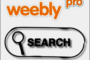 Weebly Pro Site Search