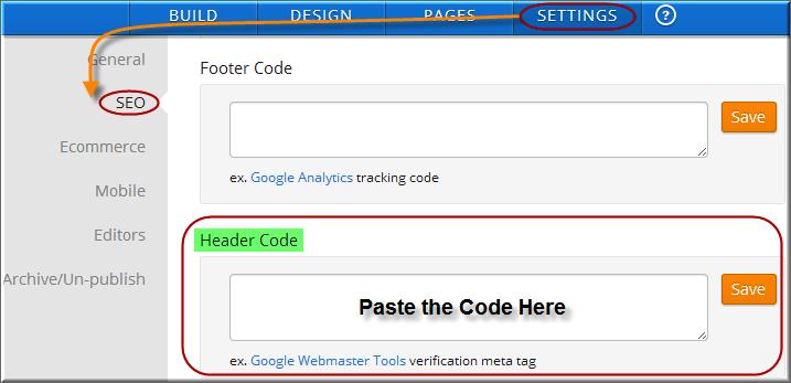 Add Favicon Code in Header Code