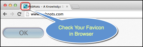 Check Favicon in Browser