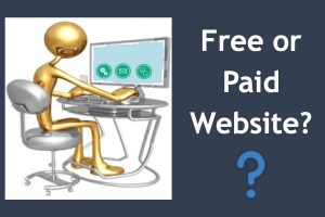 Free or Paid Website