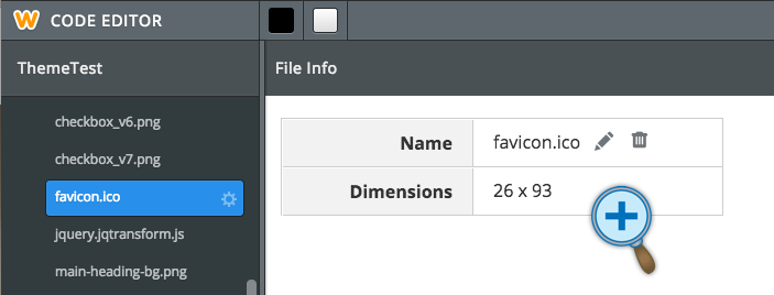 How to set favicon