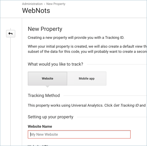 Provide Property Details in Analytics