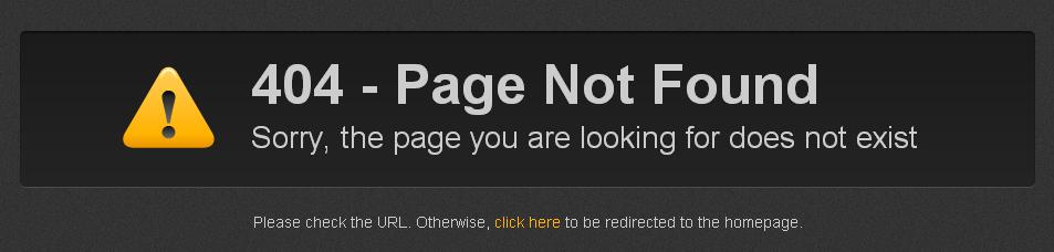 Стандартная страница Weebly 404