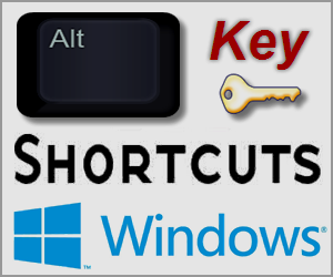 ALT Key Windows Shortcuts