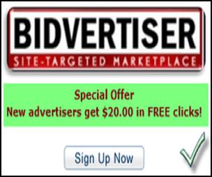 Bidvertiser Advertising
