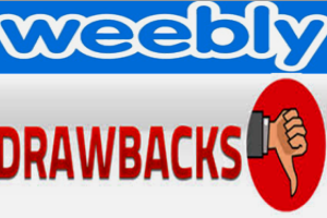 Drawbacks of Weebly Site