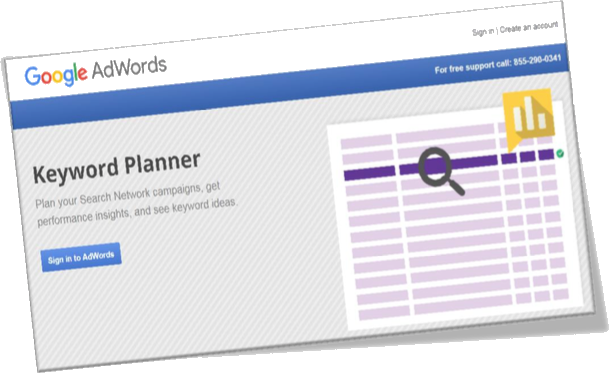 Google AdWords Keywords Planner Tool