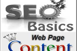 SEO for Page Content