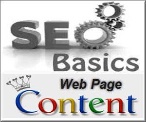 SEO for Site Content