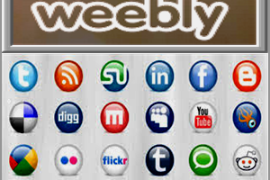 Weebly Social Elements