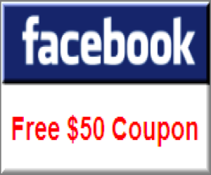Free Facebook Coupon Code