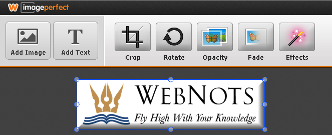 Weebly Logo Image Editor