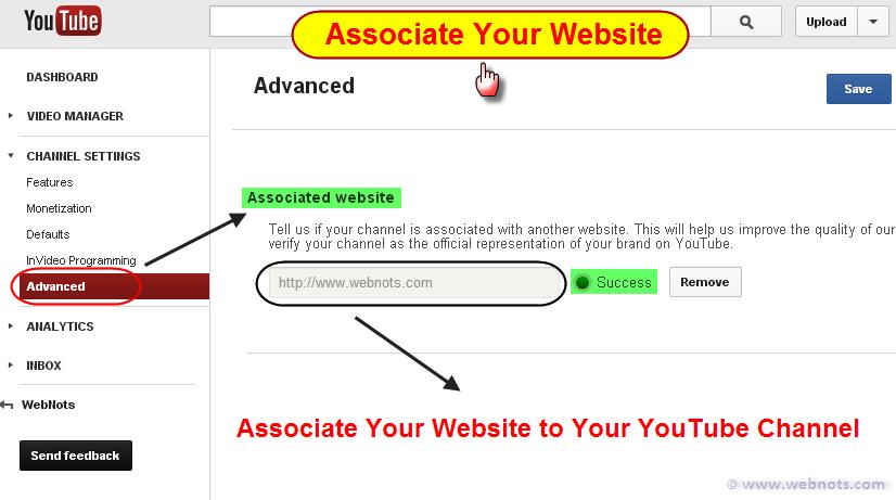 Associate Your Website