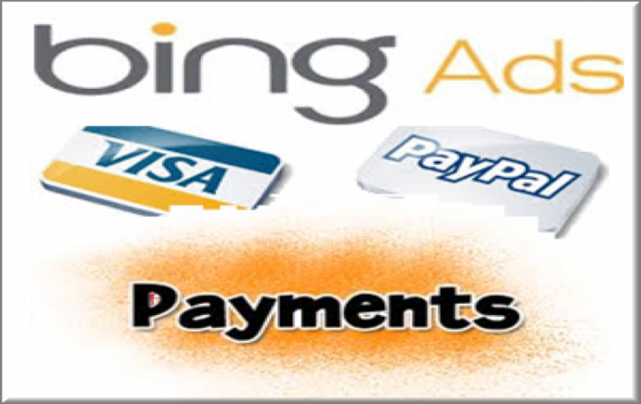 Bing Ads Payment Methods