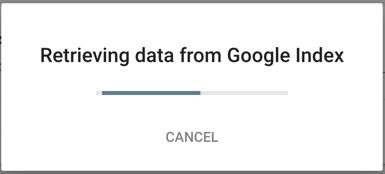 Retrieve Data From Google Index