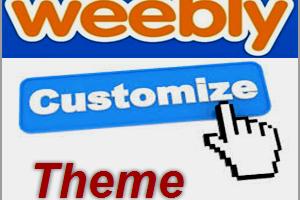 Weebly Theme Customization
