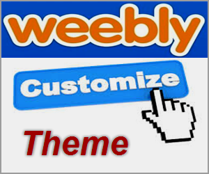 How to Customize Your Theme in Weebly?