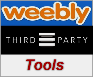 Weebly Third Party Elements