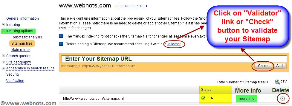 sitemap xml validator slimniyaseru