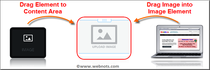Drag and Drop Image to Your Weebly Site