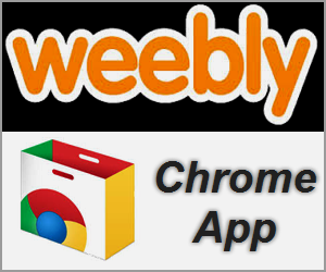 Weebly Chrome App