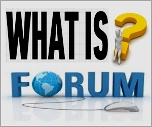 What is Online Internet Forum?