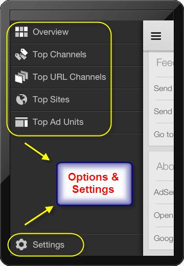 AdSense iOS App Options