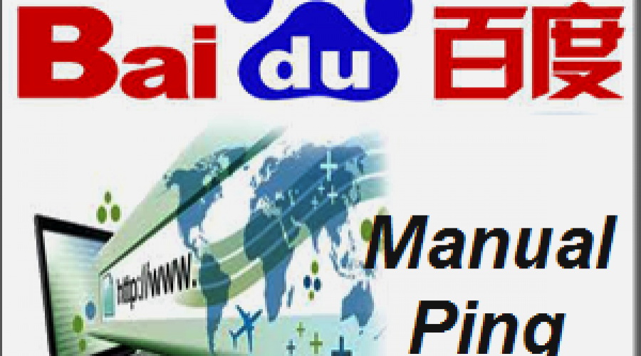 What is Baidu Manual Ping Service?