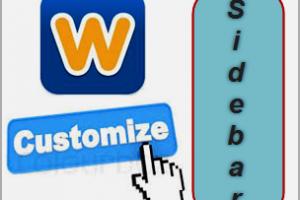 Customize Weebly Blog Sidebar