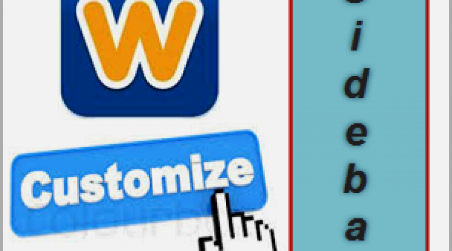 How to Remove and Customize Weebly Blog Sidebar?