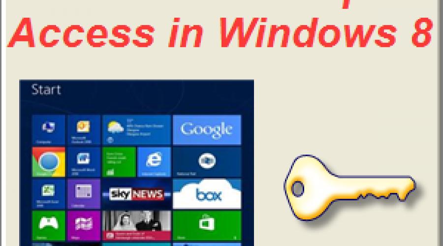Direct Desktop Access in Windows 8.1