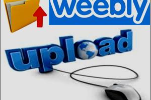 Weebly File Upload Options