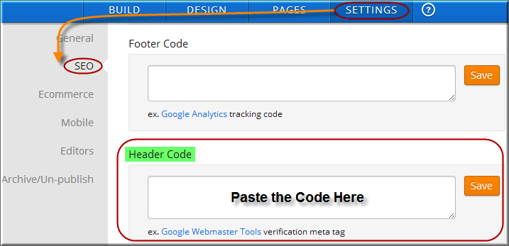 Add Code in Weebly Site Home