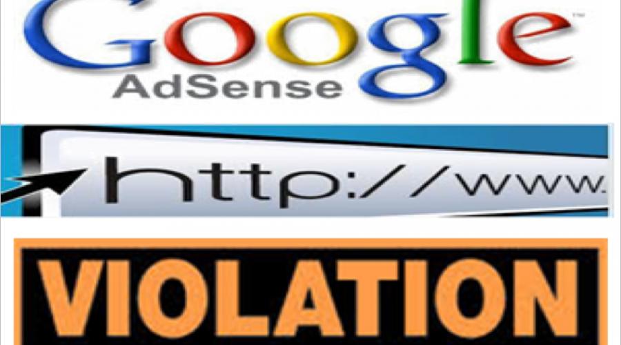 What is URL Violation in Google AdSense?