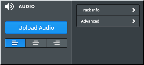 Weebly Audio Player Options