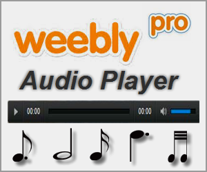 Weebly Pro Audio Player Features and Alternatives